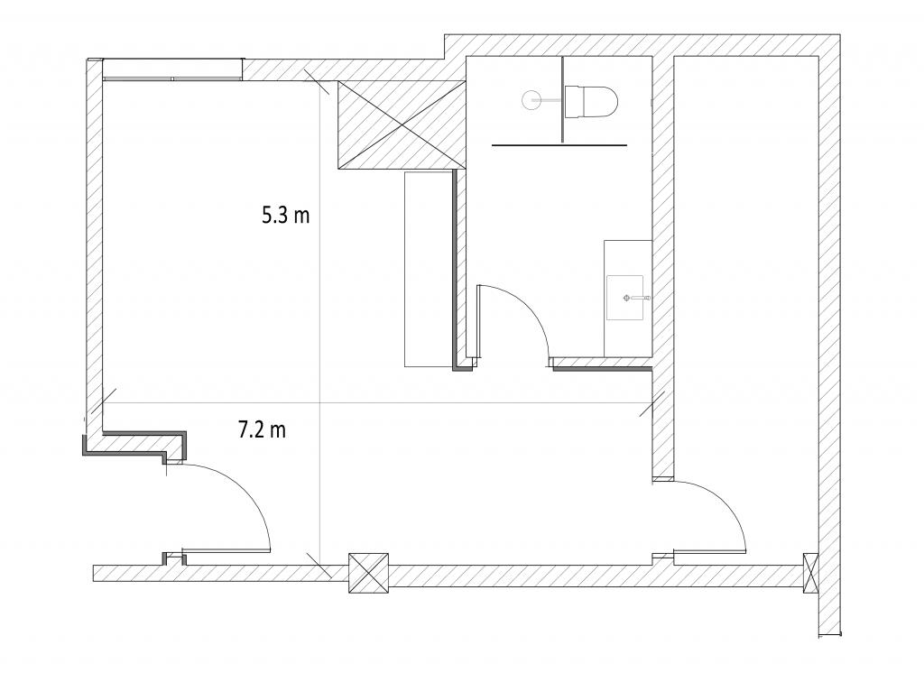 VIP floor plan - central studios shanghai